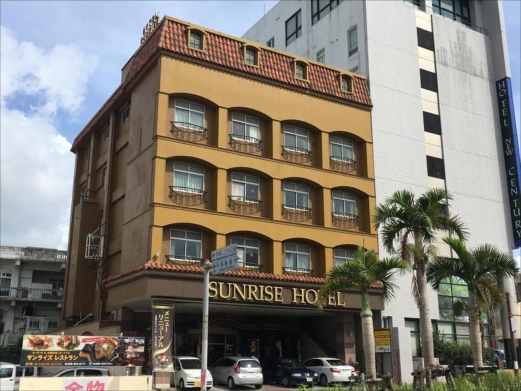 ビジネスホテルが所在する建物