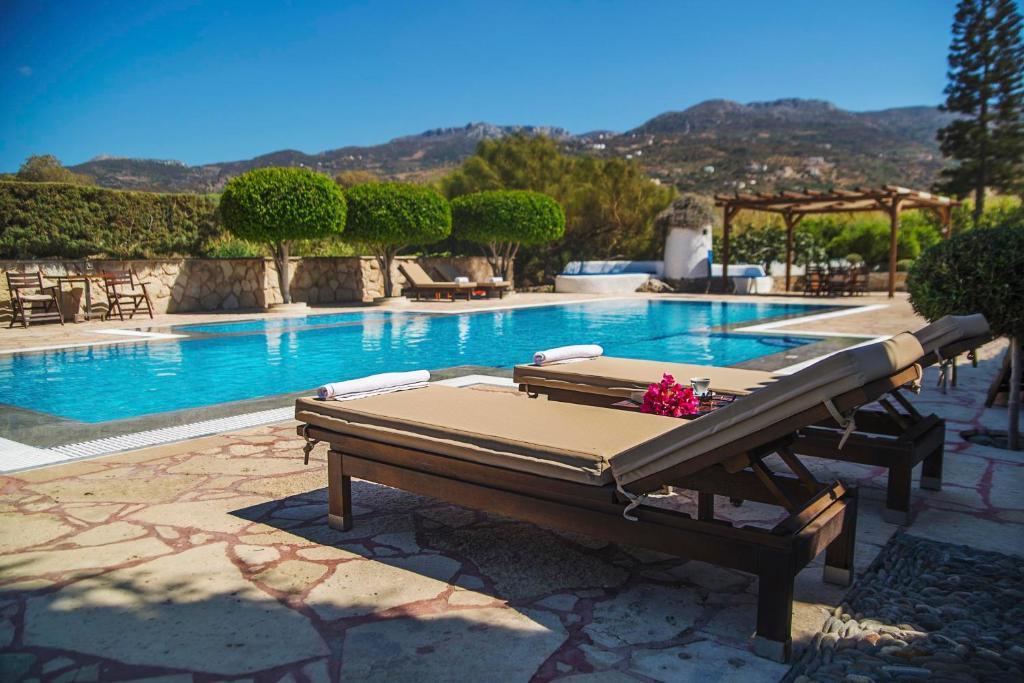 Πισίνα στο ή κοντά στο Sitia Oceanides
