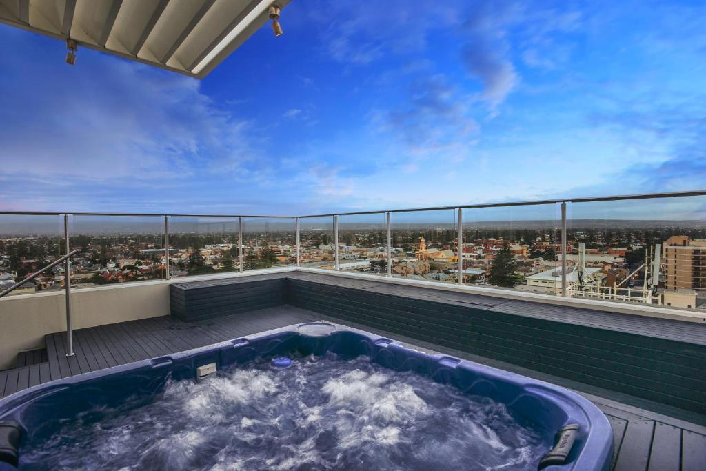 The swimming pool at or near Glenelg Skyline Penthouse - WiFi