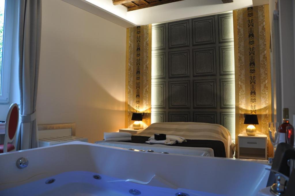 Salle de bains dans l'établissement Navona Nice Room