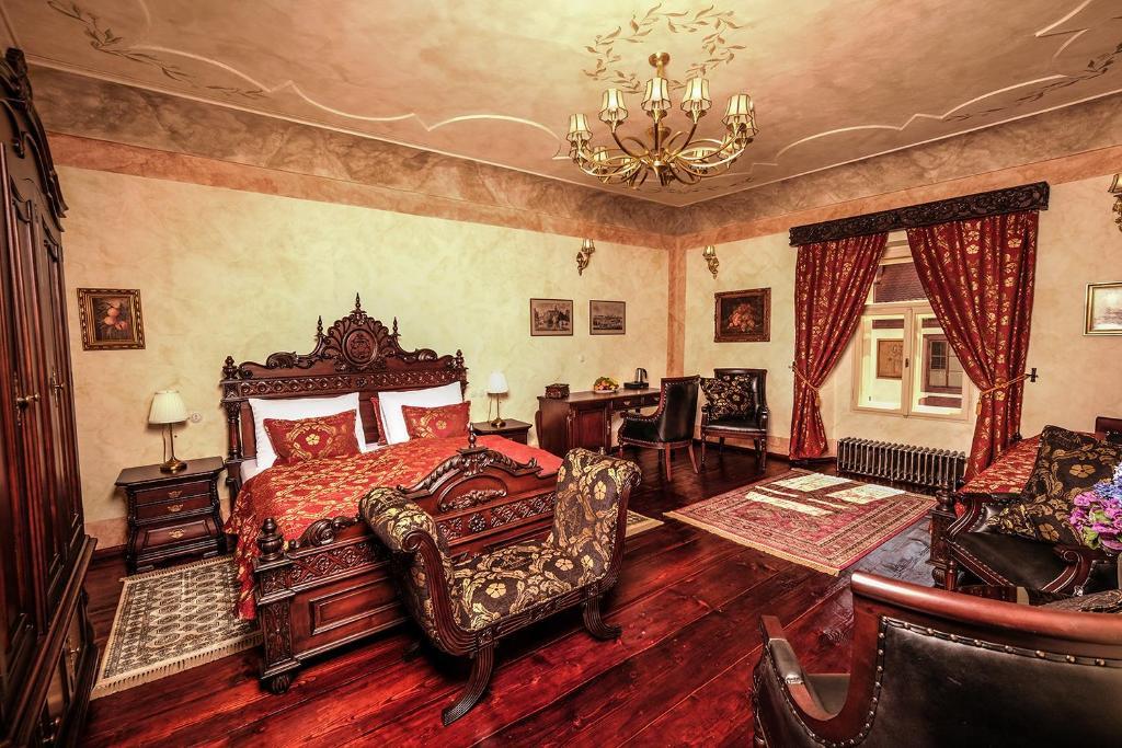 Posezení v ubytování Hotel Ebersbach