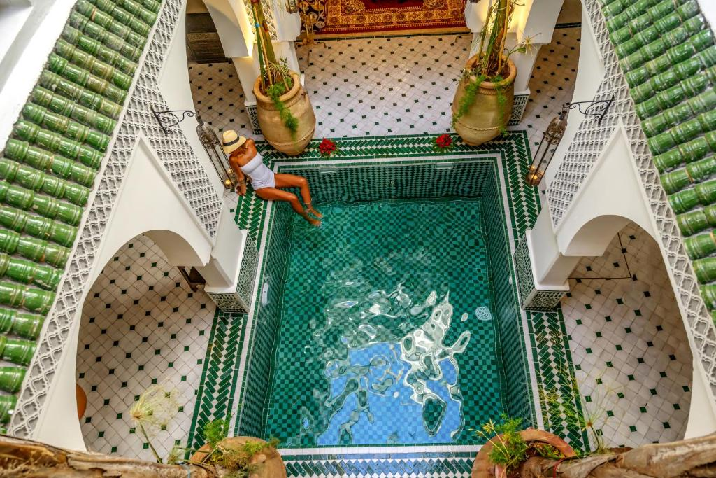 Piscine de l'établissement Riad Jemaa El Fna & Spa ou située à proximité