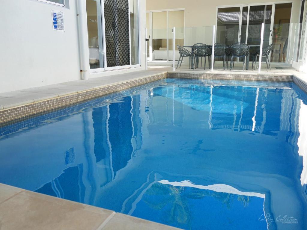 The swimming pool at or near Laguna Retreat
