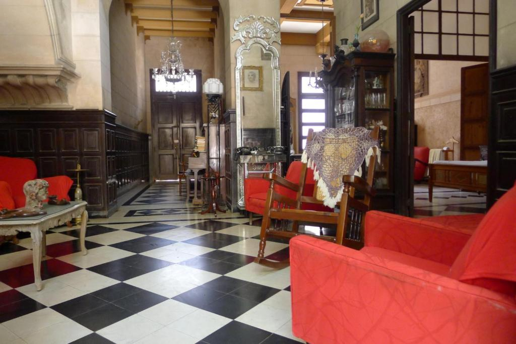 Hall ou réception de l'établissement Casa David-Lidia Diaz 1