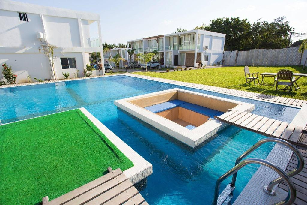 The swimming pool at or near Azure Villas
