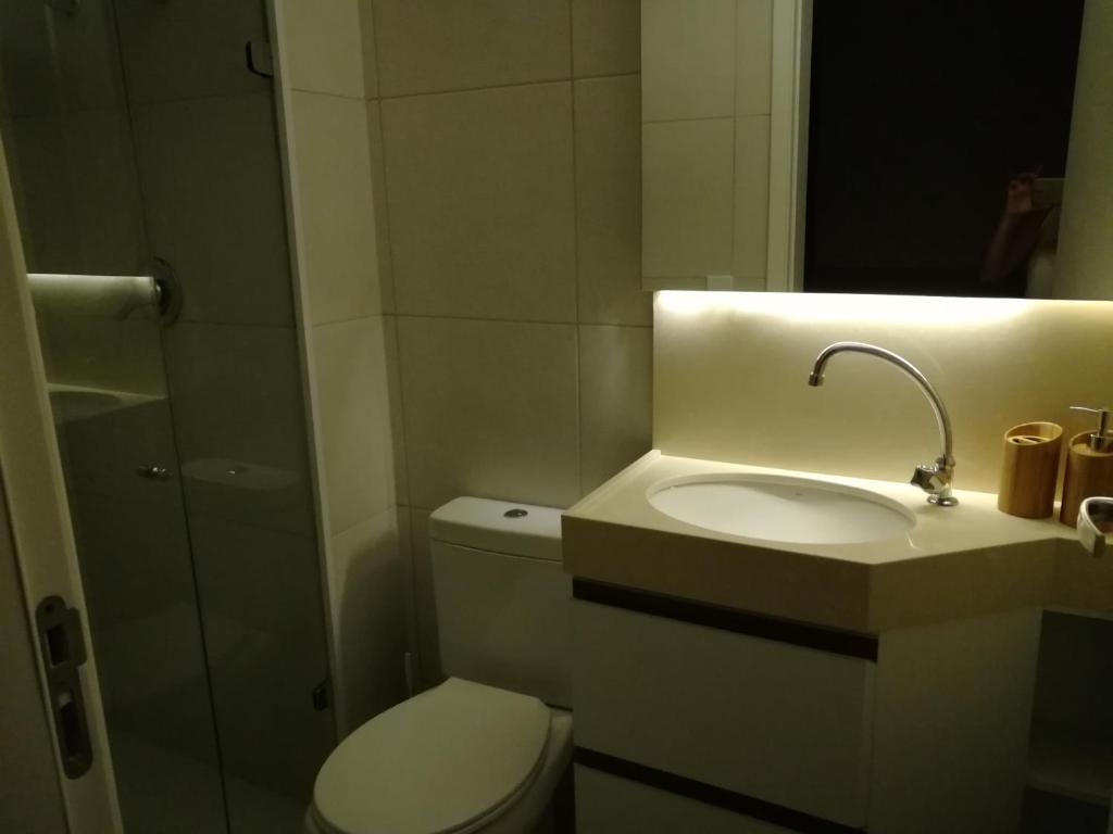 A bathroom at Cumbuco vg sun