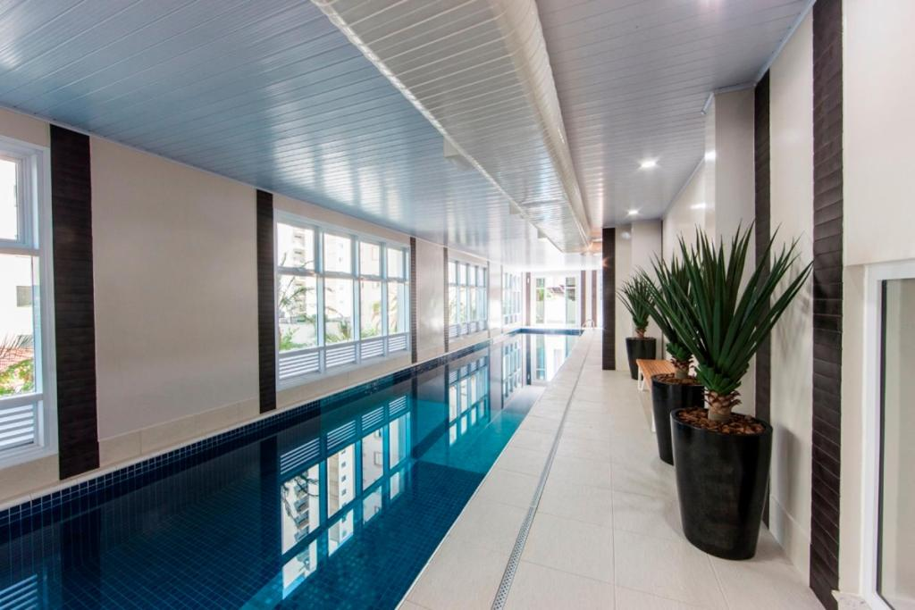 The swimming pool at or near Olympia Residence