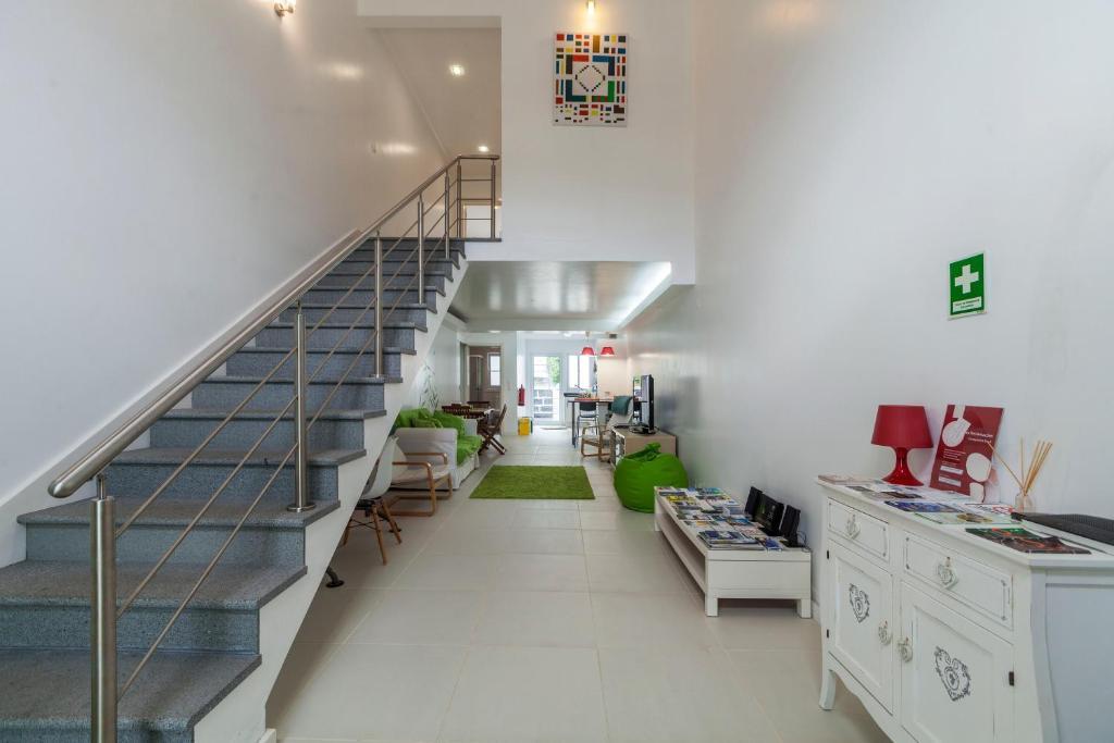 A kitchen or kitchenette at Casa do Poema