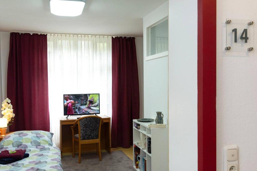 TV/Unterhaltungsangebot in der Unterkunft Morgentau Appartement