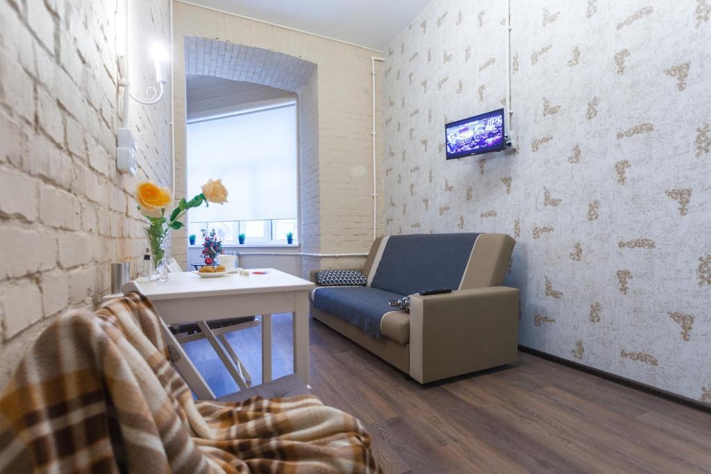 Гостиная зона в Гости Любят на Петроградской