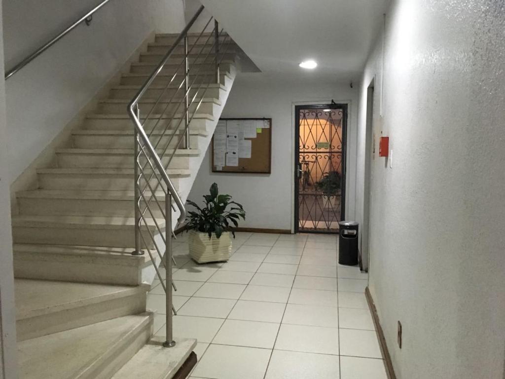 The lobby or reception area at Apartamento Dona Raquel