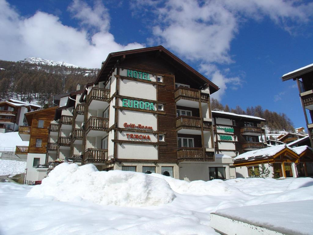 Hotel Europa Guest House Saas-Fee, Switzerland