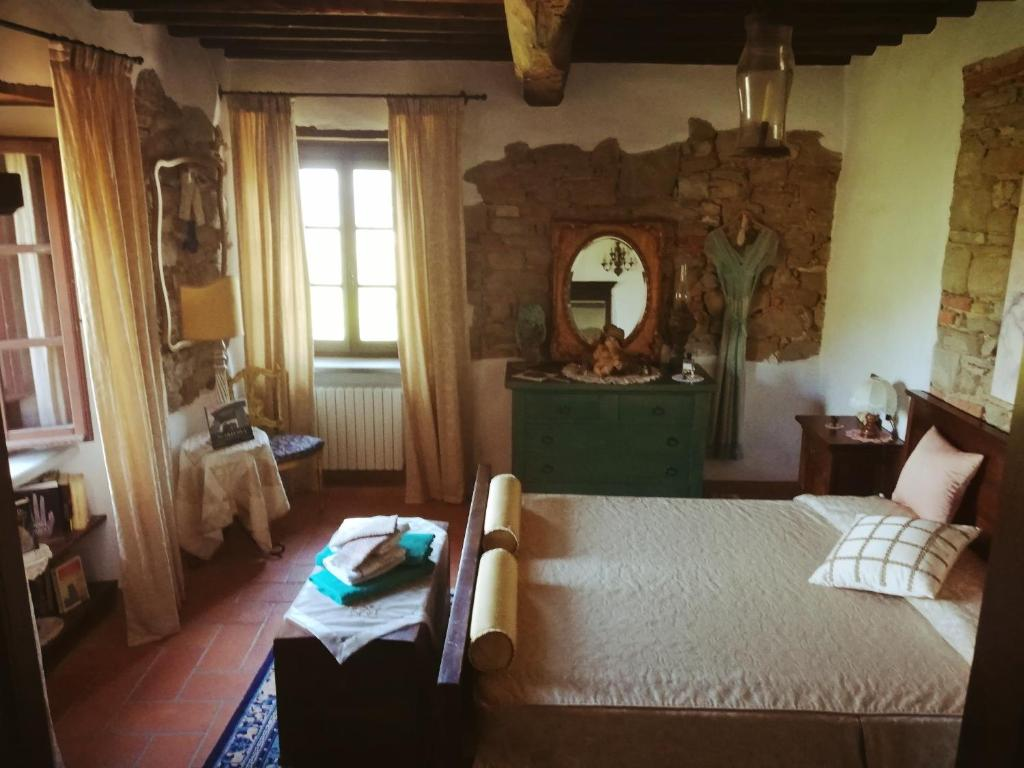 Room in old castle