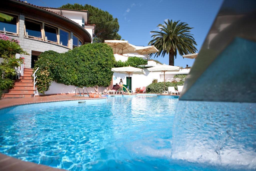 The swimming pool at or near Hotel Gallo Nero