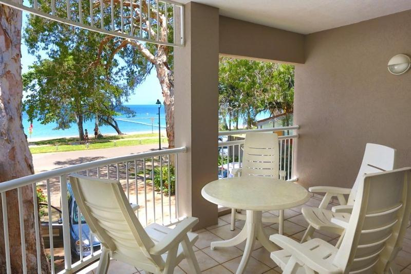 A balcony or terrace at Coral Horizons