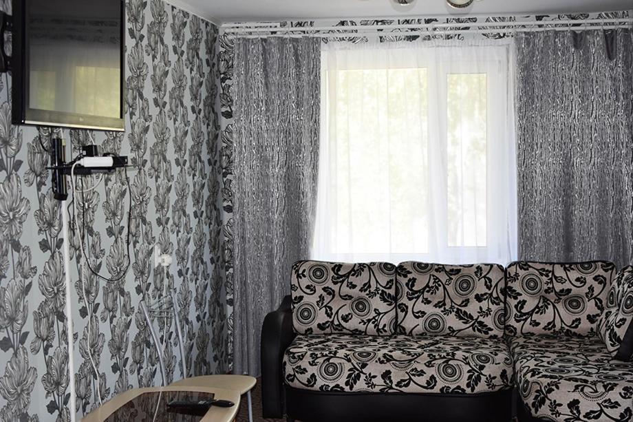 Гостиная зона в Inema Мотель