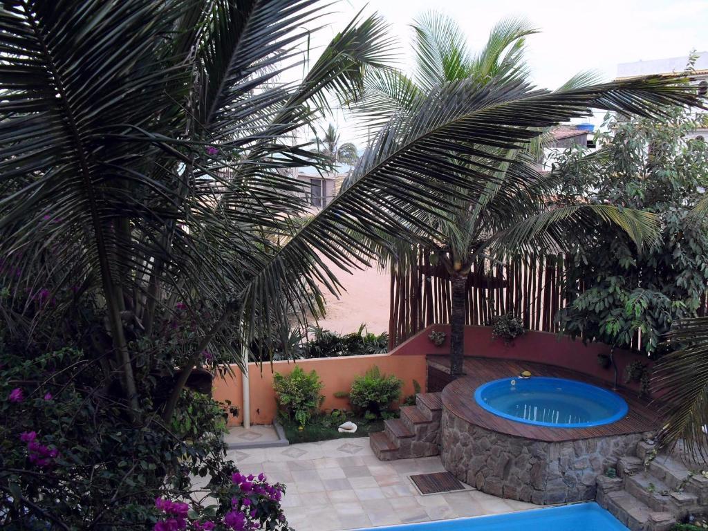 The swimming pool at or near Pousada Miramar