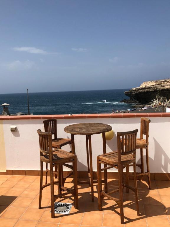Un balcón o terraza de Casa Ola