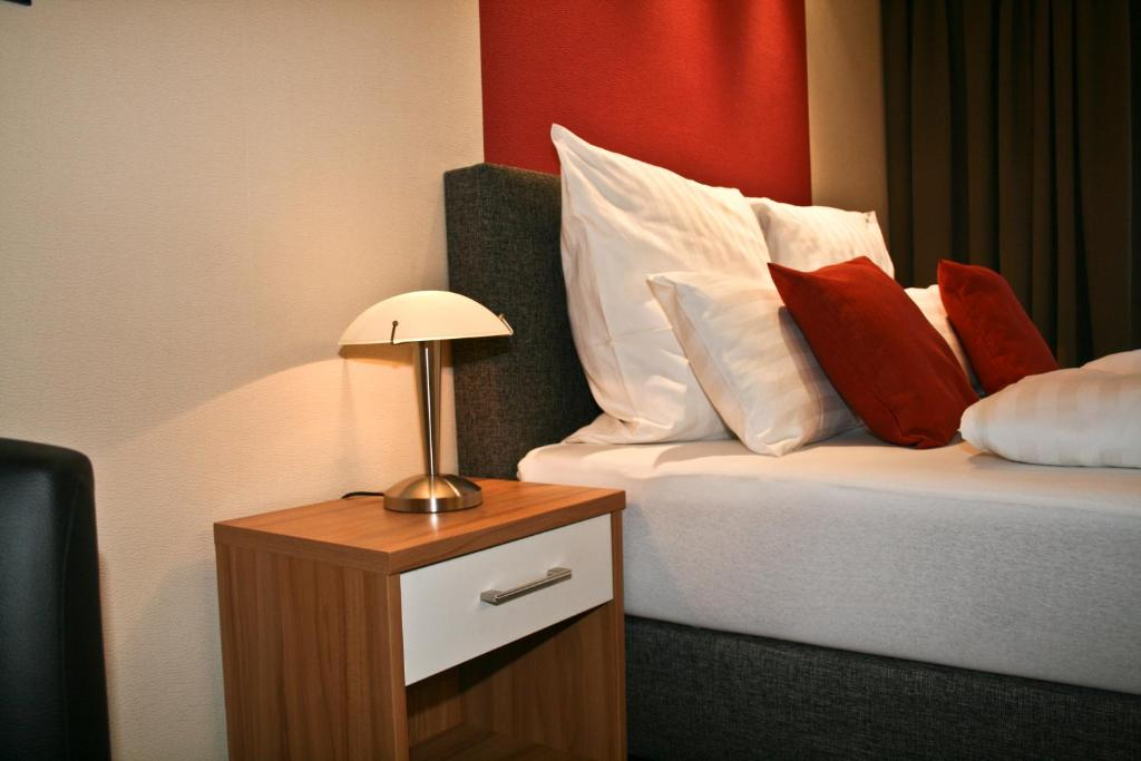 Ein Bett oder Betten in einem Zimmer der Unterkunft Haus Elisabeth