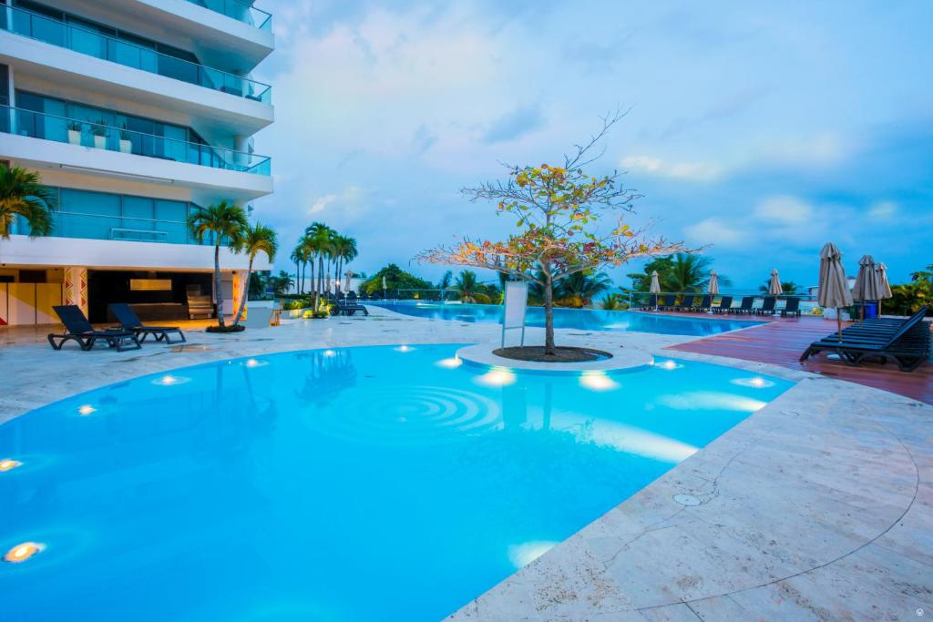 The swimming pool at or near Sonesta Hotel Cartagena