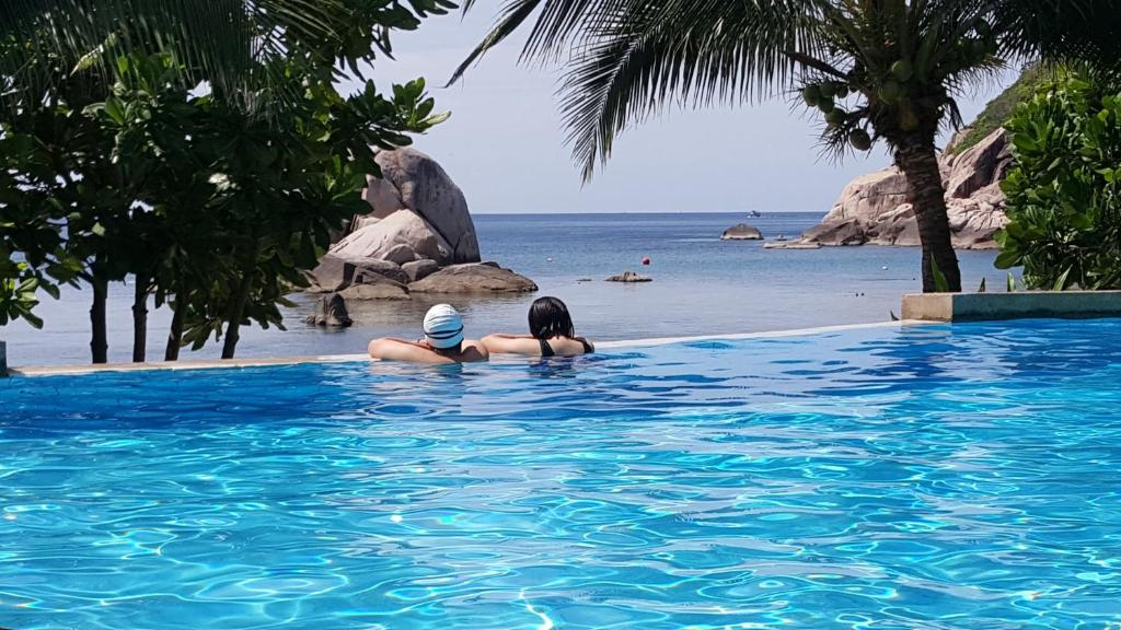 The swimming pool at or near Montalay Beach Resort