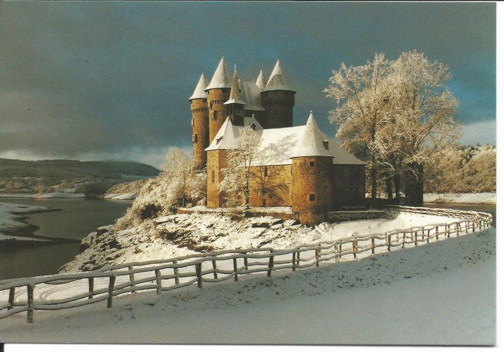 Chateau De Val during the winter