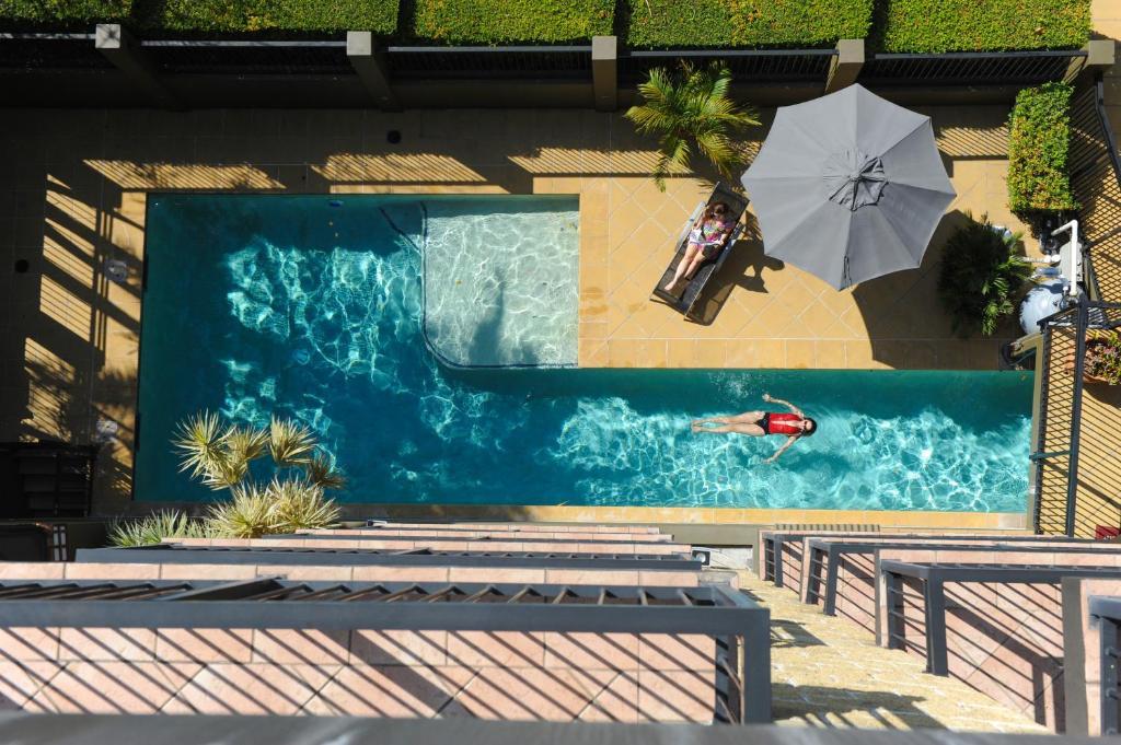 The swimming pool at or near Il Mondo Boutique Hotel