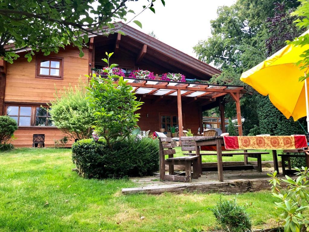 Ein Garten an der Unterkunft Landhaus de Gaspary