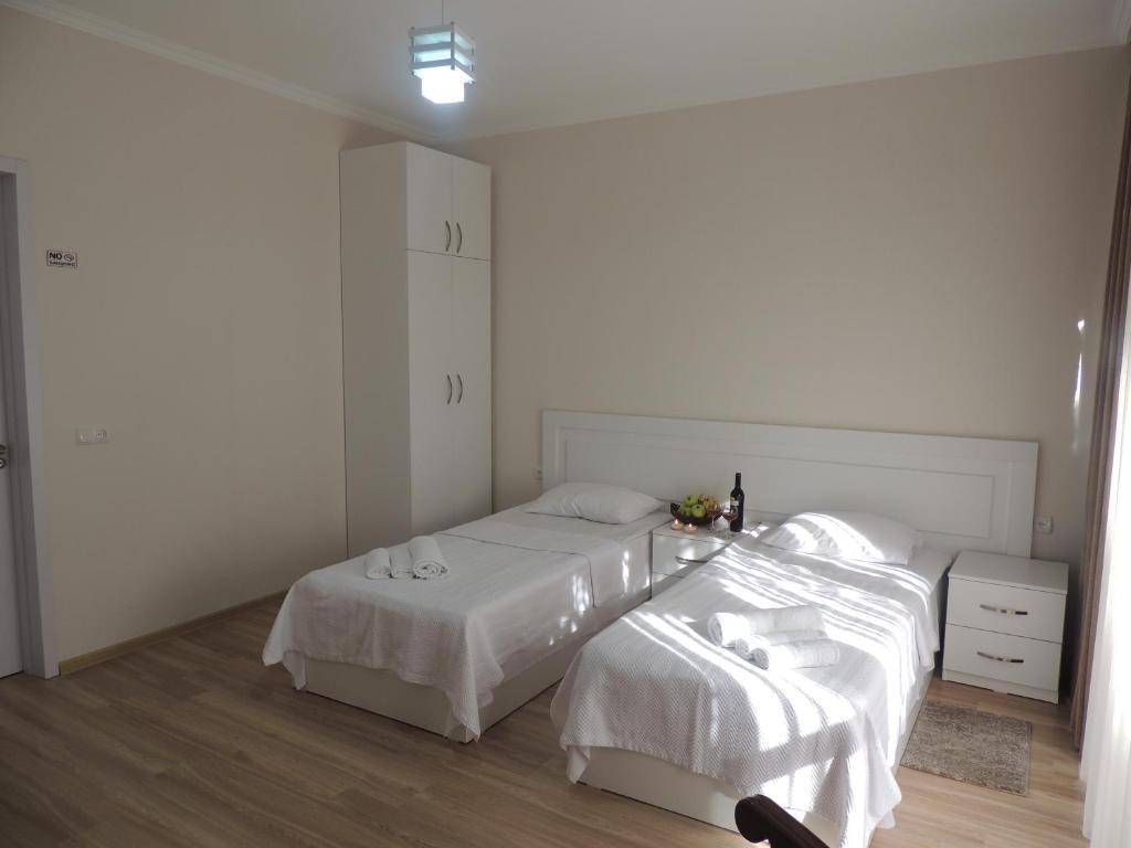 Кровать или кровати в номере Old Town