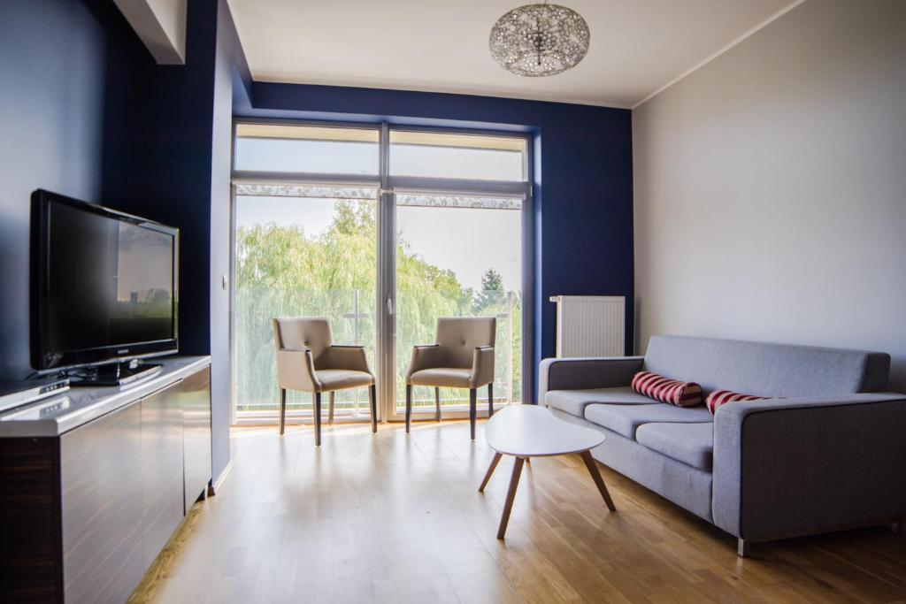 Część wypoczynkowa w obiekcie Apartamenty Sun & Snow Bałtyk Park