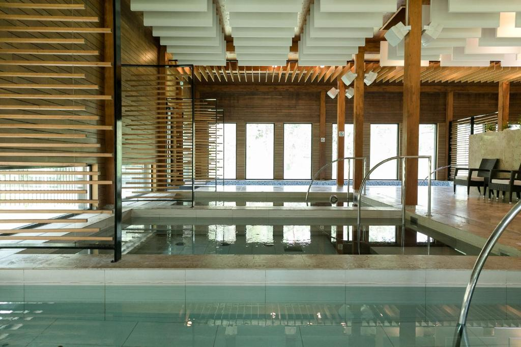 The swimming pool at or near Kubija Hotel and NatureSpa