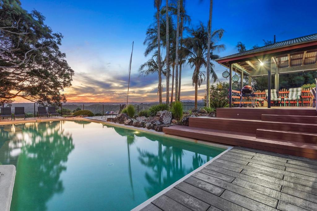 The swimming pool at or close to Byron Hinterland Villas