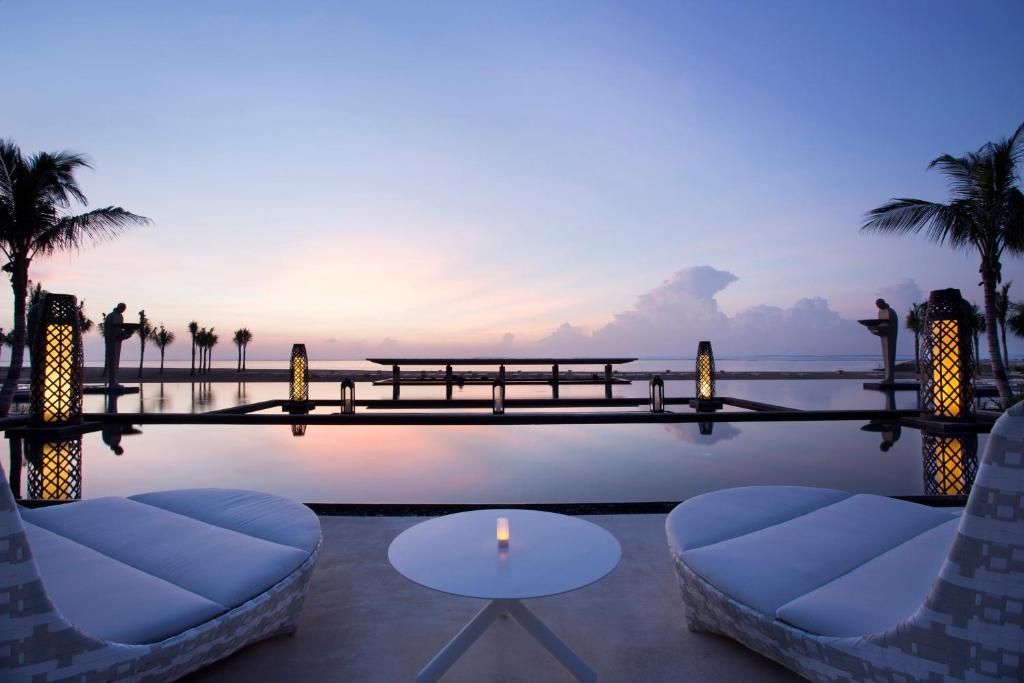 The swimming pool at or near Mulia Resort
