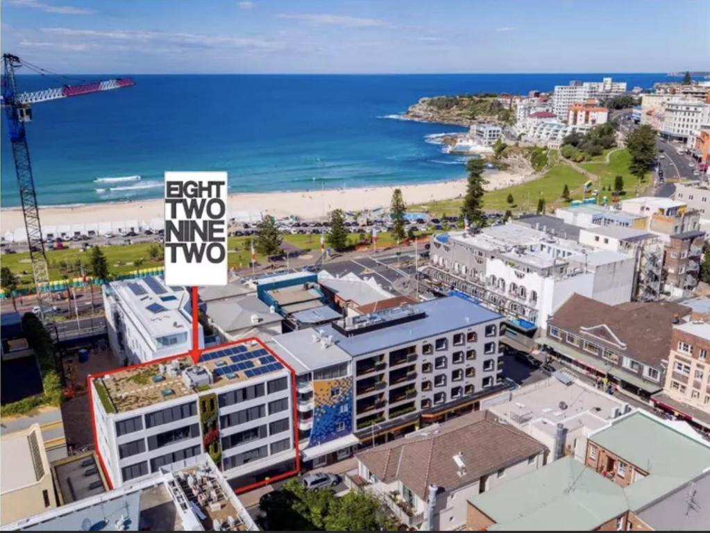 A bird's-eye view of EIGHT TWO NINE TWO III: BONDI BEACH