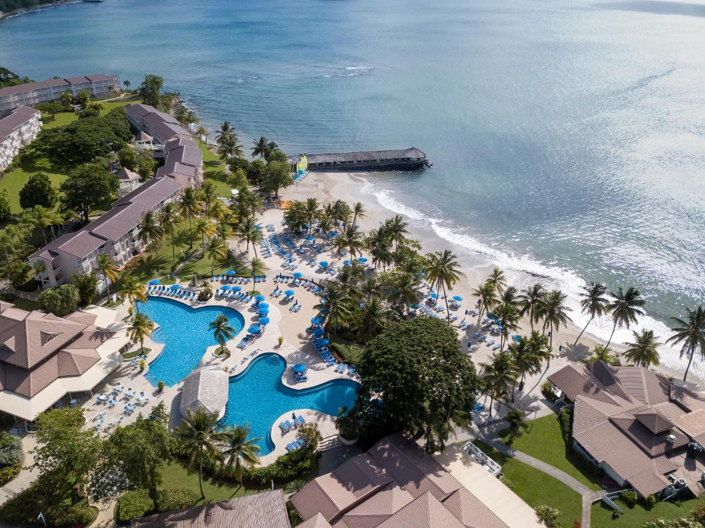 A bird's-eye view of St. James's Club Morgan Bay Resort - All Inclusive