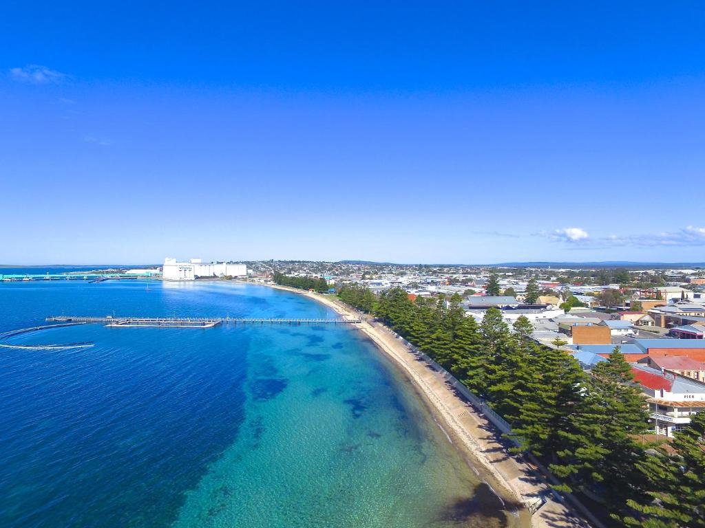 A bird's-eye view of Limani Port Lincoln