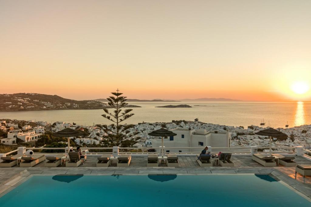 Πισίνα στο ή κοντά στο Ξενοδοχείο Αλκυών