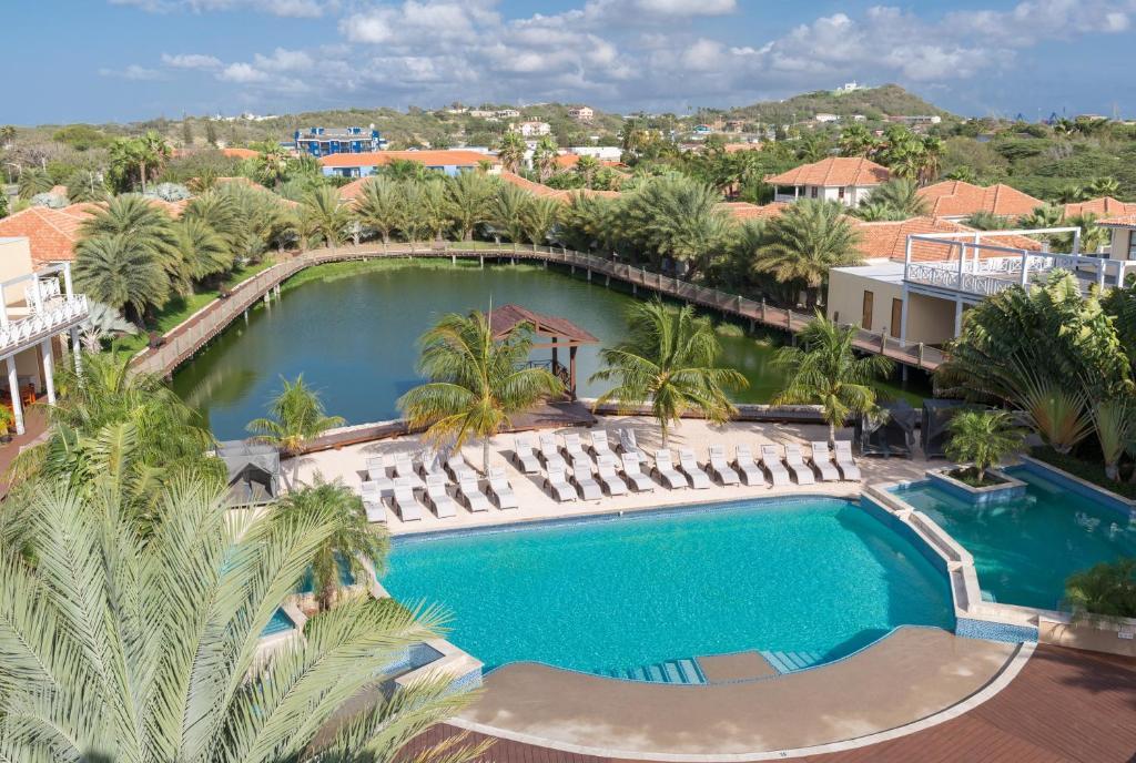 Uma vista da piscina em Acoya Curacao Resort, Villas & Spa ou nos arredores
