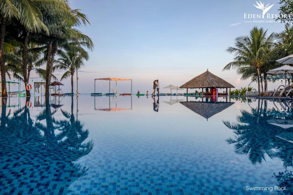 The swimming pool at or near Eden Resort Phu Quoc