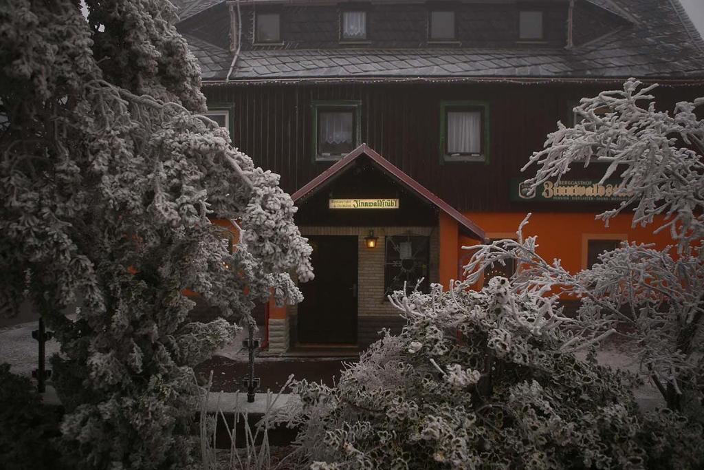 Pension Zinnwaldstubl im Winter