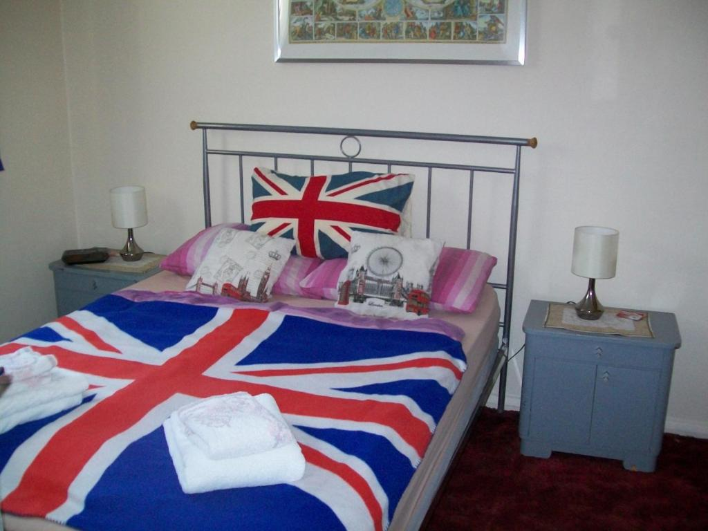 A bed or beds in a room at B & B in Seven Sisters