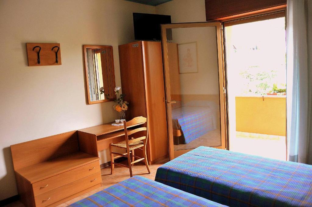 Letto o letti in una camera di Locanda da Cidalie
