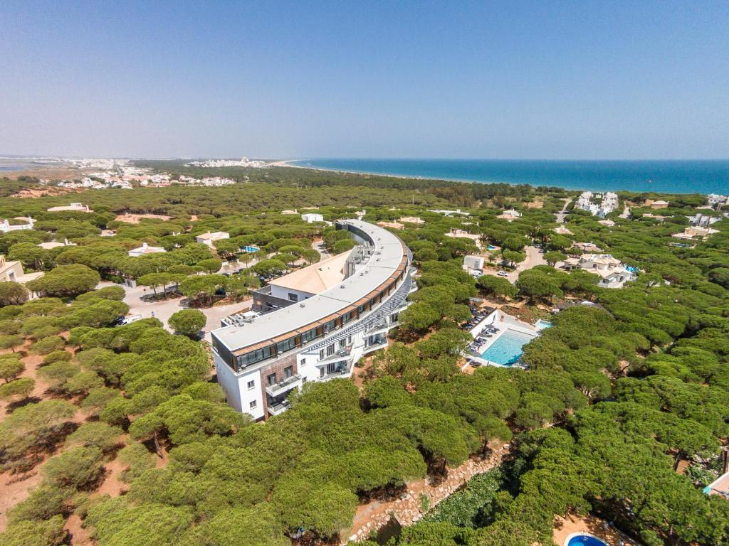 A bird's-eye view of Praia Verde Boutique Hotel