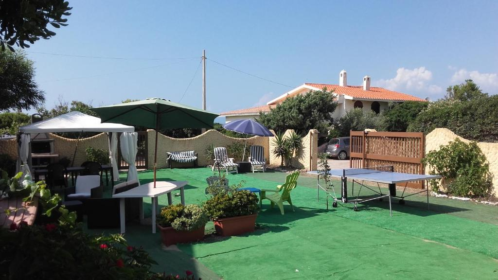 The swimming pool at or near Apartment The Sea of Sardinia