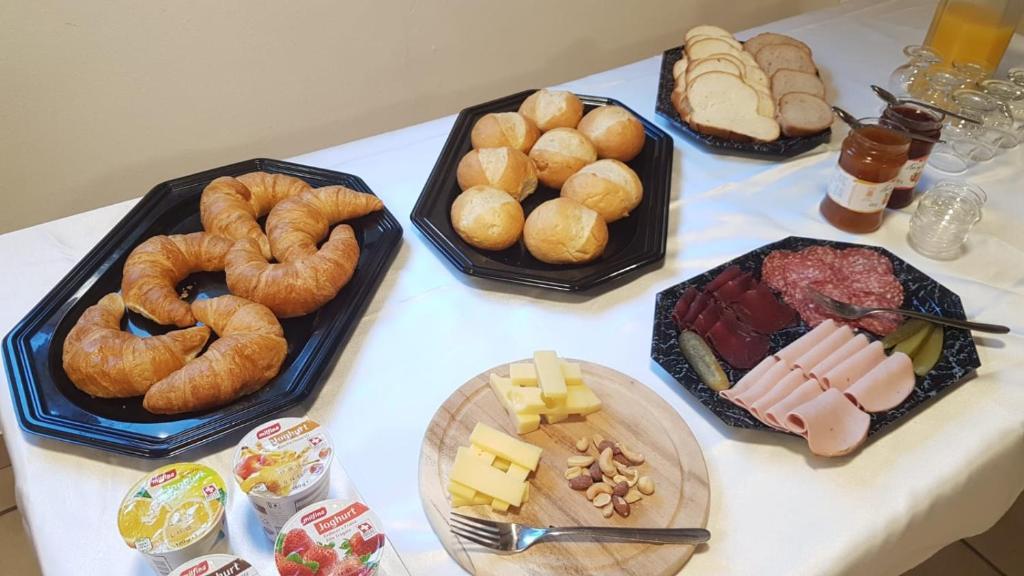 Essen im Gasthaus oder in der Nähe