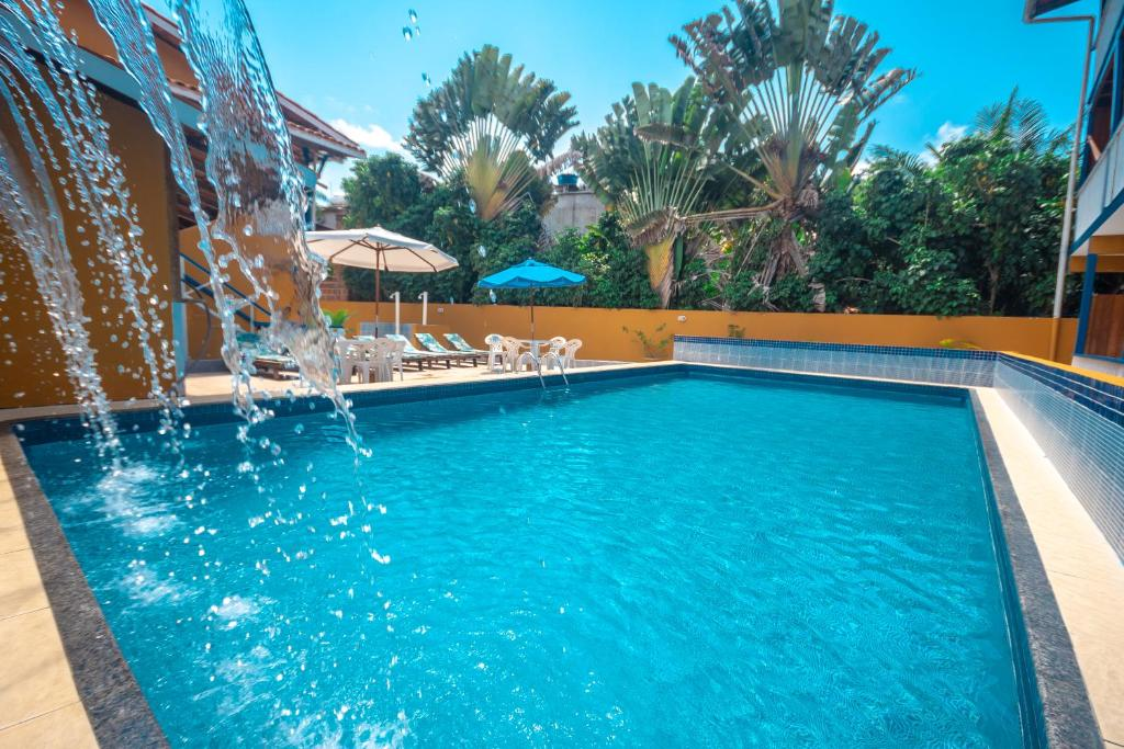The swimming pool at or near Brisa do Caitá Praia Hotel