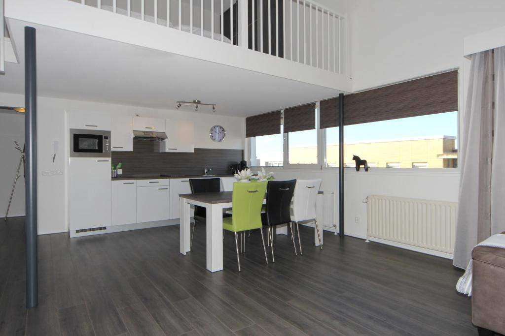 Een keuken of kitchenette bij Overtoom 60, Papendrecht