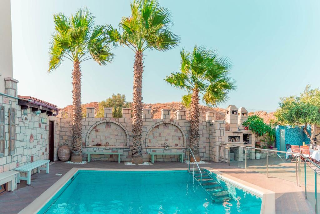 The swimming pool at or close to Luxury Villa Karteros
