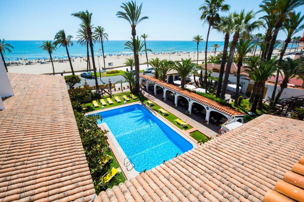 Vista de la piscina de Hostería del Mar o alrededores