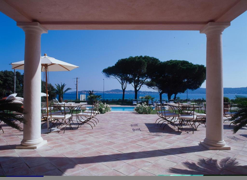 The swimming pool at or close to Hotel Villa Les Rosiers
